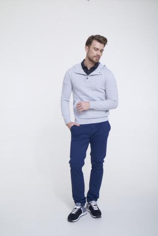 Big Star Mans Hooded Sweater 161992 -901 pánské Black XL