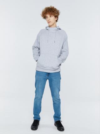 Big Star Mans Hooded Sweatshirt 152522 -901 pánské Black XL