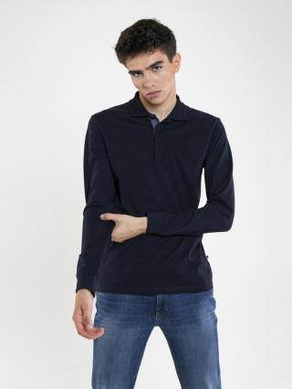 Big Star Mans Longsleeve T-shirt 180007 -403 pánské Blue L