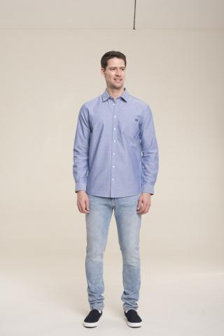 Big Star Mans Shirt 141654 -401 pánské Blue XXL