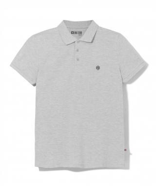 Big Star Mans Shortsleeve Polo T-shirt 152508 -901 pánské Black M