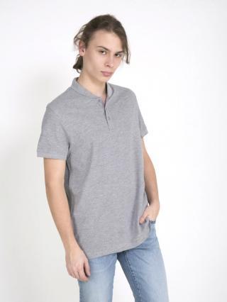 Big Star Mans Shortsleeve Polo T-shirt 154393 -902 pánské Black M