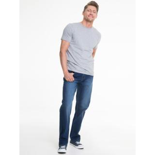 Big Star Mans Shortsleeve T-shirt 150019 Dark -991 pánské Grey XL