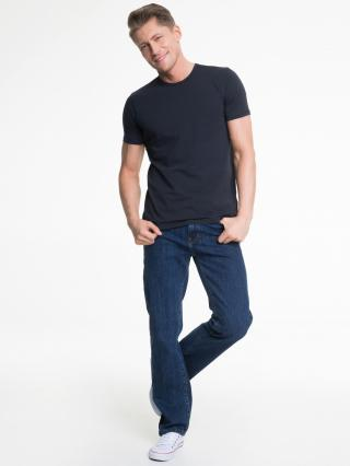 Big Star Mans Shortsleeve T-shirt 150019 Navy Blue-475 pánské M