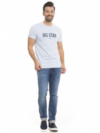 Big Star Mans Shortsleeve T-shirt 150045 Light -404 pánské Blue L