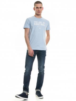 Big Star Mans Shortsleeve T-shirt 154403 -425 pánské Blue XL
