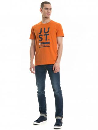 Big Star Mans Shortsleeve T-shirt 154404 -781 pánské Orange XL