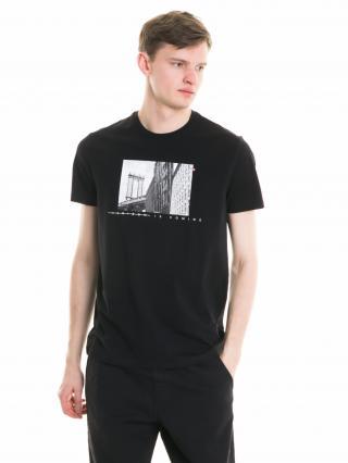 Big Star Mans Shortsleeve T-shirt 154419 -900 pánské Black L