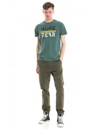 Big Star Mans Shortsleeve T-shirt 154426 -391 pánské Green M