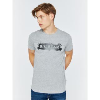 Big Star Mans Shortsleeve T-shirt 154522 -901 pánské Black 3XL