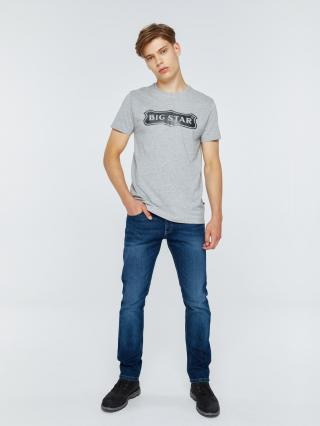 Big Star Mans Shortsleeve T-shirt 154522 -901 pánské Black M