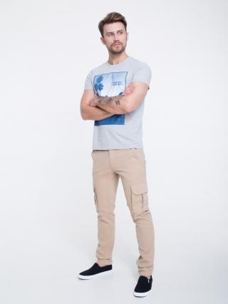 Big Star Mans Shortsleeve T-shirt 154579 -902 pánské Black S