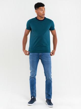 Big Star Mans Shortsleeve T-shirt 158890 Turquoise-302 pánské Blue M