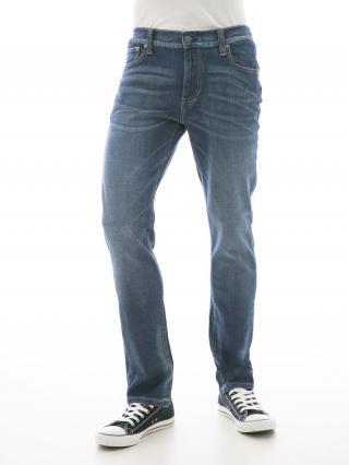 Big Star Mans Slim Trousers 110082 -503 pánské Dark Jeans W33/L30