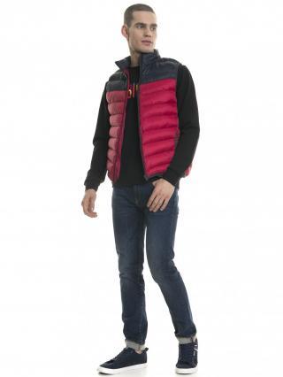 Big Star Mans Slim Trousers 110082 -760 pánské Dark Jeans W38 L30