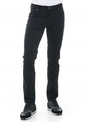 Big Star Mans Slim Trousers 110082 -900 pánské Black W44 L34