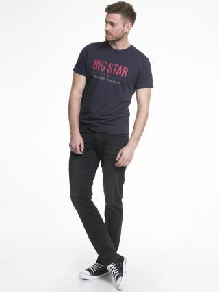 Big Star Mans Slim Trousers 110282 -916 pánské Black W42 L32