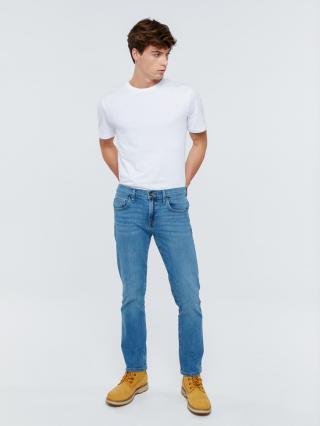 Big Star Mans Slim Trousers 110762 -336 pánské Medium Jeans W28 L32