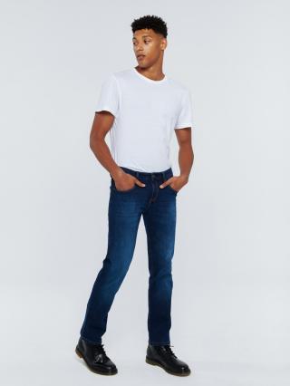 Big Star Mans Slim Trousers 110762 -448 pánské Medium Jeans W30 L32