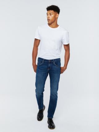 Big Star Mans Slim Trousers 110762 -484 pánské Medium Jeans W33/L30