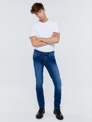 Big Star Mans Slim Trousers 110762 -499 pánské Medium Jeans W30 L32