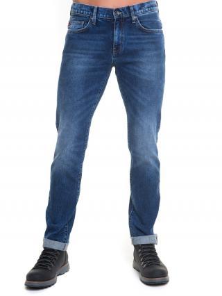 Big Star Mans Slim Trousers 110762 -647 pánské Dark Jeans W33/L36