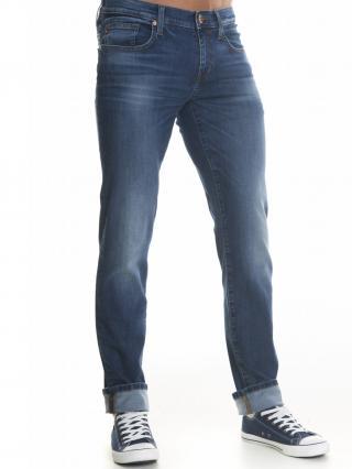 Big Star Mans Slim Trousers 110762 -703 pánské Dark Jeans W44 L32