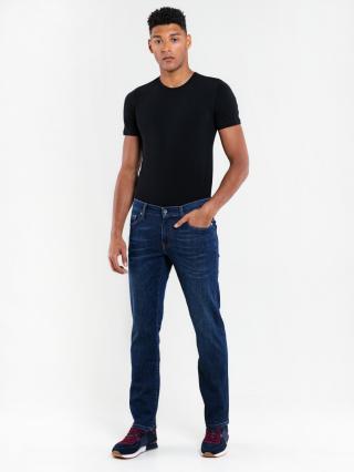Big Star Mans Slim Trousers 110762 -704 pánské Dark Jeans W31 L34