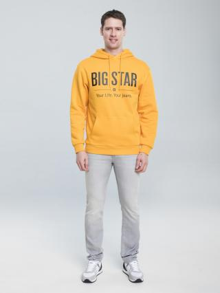 Big Star Mans Slim Trousers 110762 -890 pánské Grey W34 L32