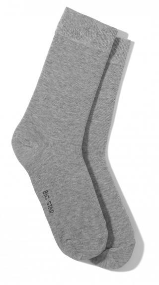 Big Star Mans Socks 273186 -992 pánské Grey 43