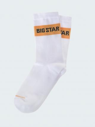 Big Star Mans Socks 273532 -101 pánské Cream 43