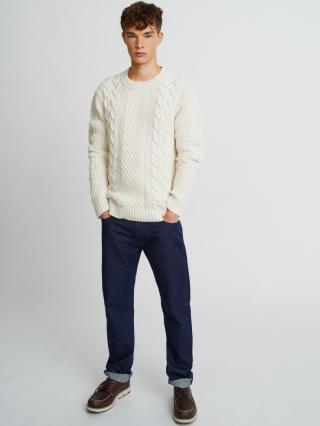 Big Star Mans Sweater 161989 -801 pánské Gold L