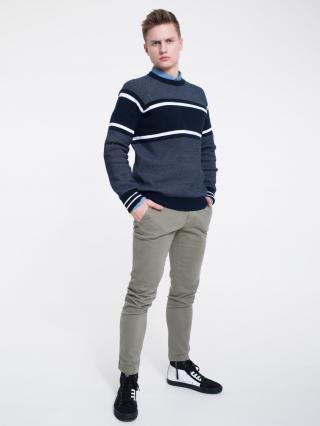 Big Star Mans Sweater 161991 -906 pánské Black XL