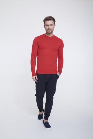 Big Star Mans Sweater 162001 -603 pánské Red XXL