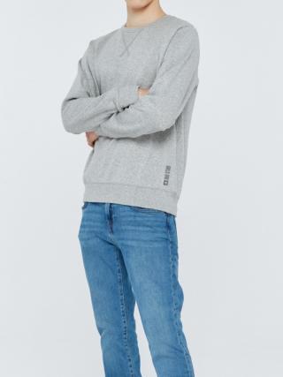 Big Star Mans Sweatshirt 152501 -901 pánské Black L