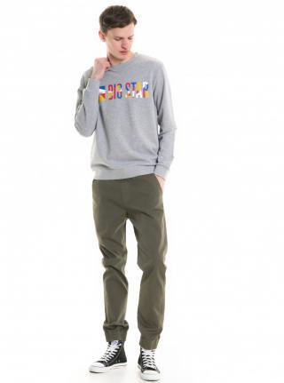 Big Star Mans Sweatshirt 154394 -979 pánské Grey XL