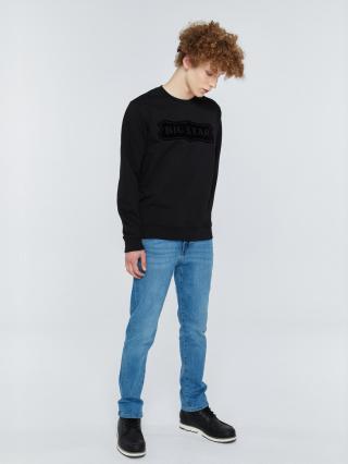 Big Star Mans Sweatshirt 154511 -906 pánské Black S