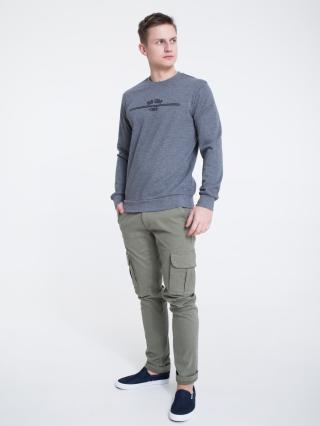 Big Star Mans Sweatshirt 154556 -904 pánské Black XXL