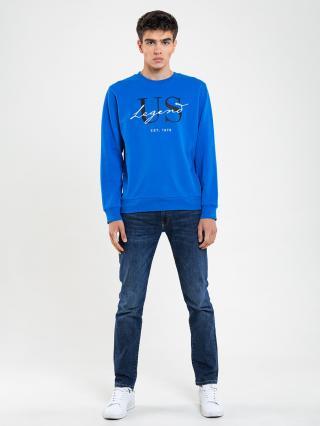Big Star Mans Sweatshirt 174251 -401 pánské Blue XL