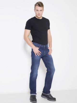 Big Star Mans Trousers 110113 -450 pánské Medium Jeans W44 L32
