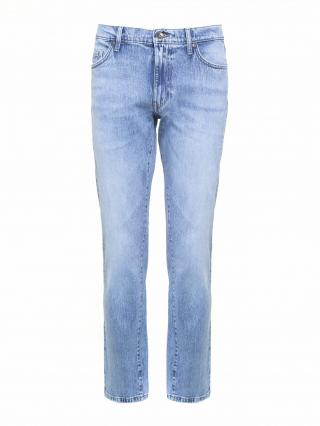 Big Star Mans Trousers 110113 Light Jeans-113 pánské Blue W33/L30