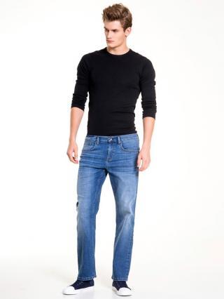 Big Star Mans Trousers 110758 -425 pánské Medium Jeans W38 L32