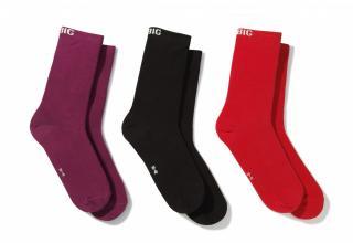 Big Star Unisexs Socks 273469 Multicolour-0 dámské wzorzysty 39-42