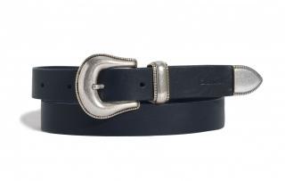 Big Star Womans Belt 174222 Navy Blue-402 dámské XS/80 cm