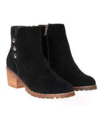 Big Star Womans Boots 206343 -900 dámské Black 38