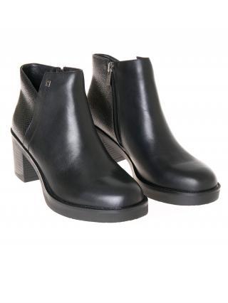 Big Star Womans Boots 206399 -900 dámské Black 39