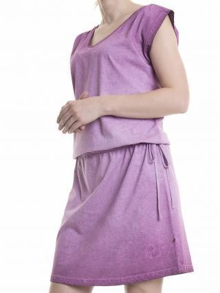 Big Star Womans Dress 340045 Burgundy-604 dámské Red S