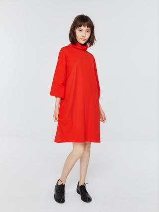 Big Star Womans Dress 340048 -645 dámské Red S