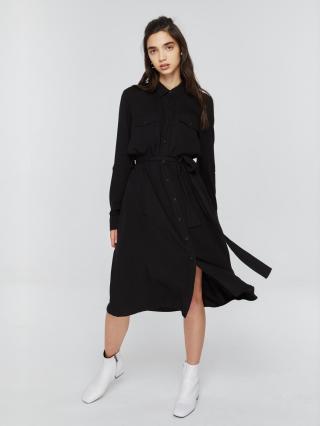 Big Star Womans Dress 340055 -906 dámské Black XL