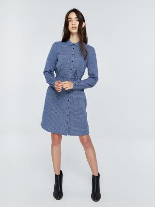 Big Star Womans Dress 340057 Navy Blue-402 dámské M